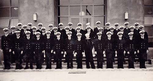 Cadet Graduating Class, Naval Air Station, Corpus Christi, November, 1942.