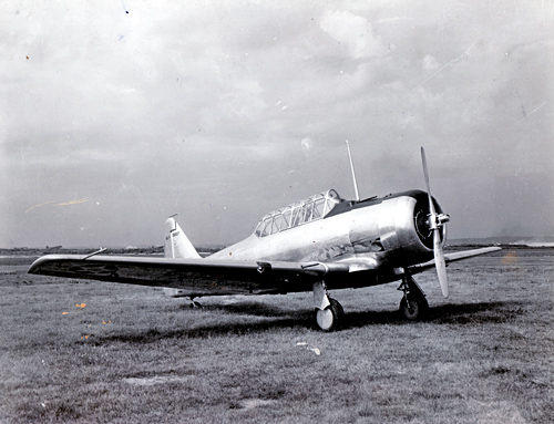 North American Aviation SNJ-4