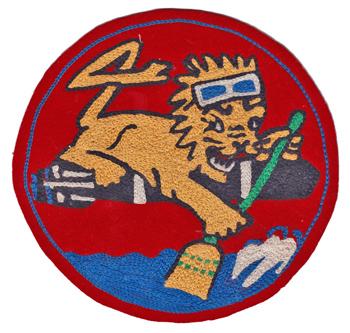 Torpedo Squadron Four (VT-4) Insignia Patch