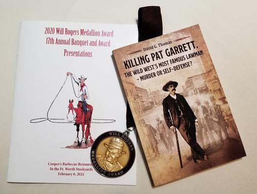 Killing Pat Garrett - Award Winner